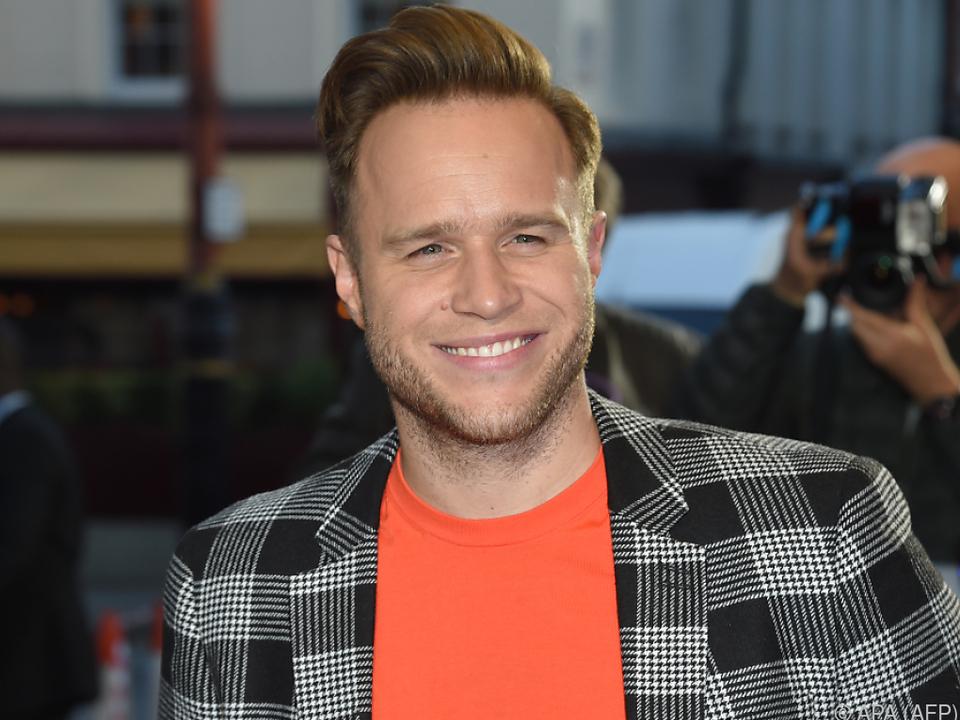 Der britische Sänger schwingt gerne das Tanzbein