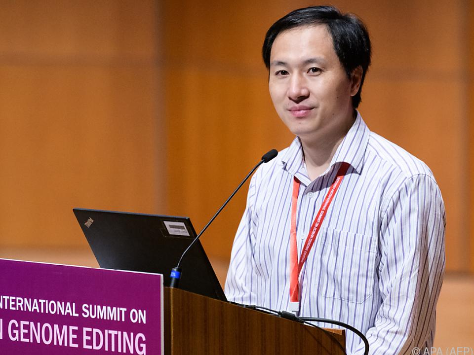 Der chinesische Forscher He Jiankui stellte sich den Fragen
