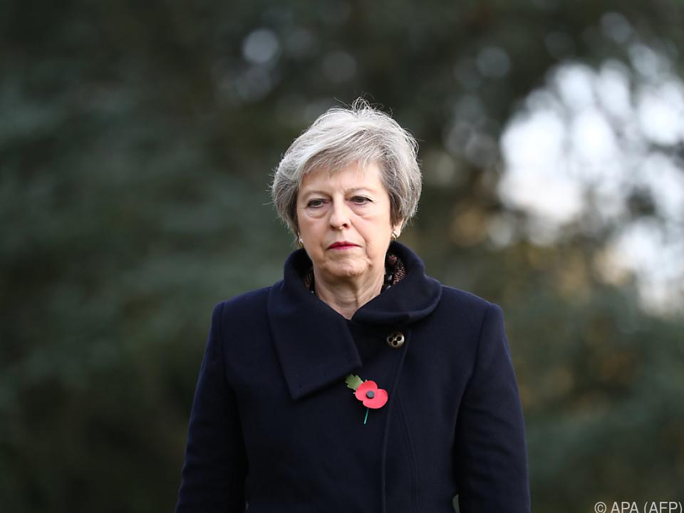 Der Druck auf Premierministerin May erhöht sich