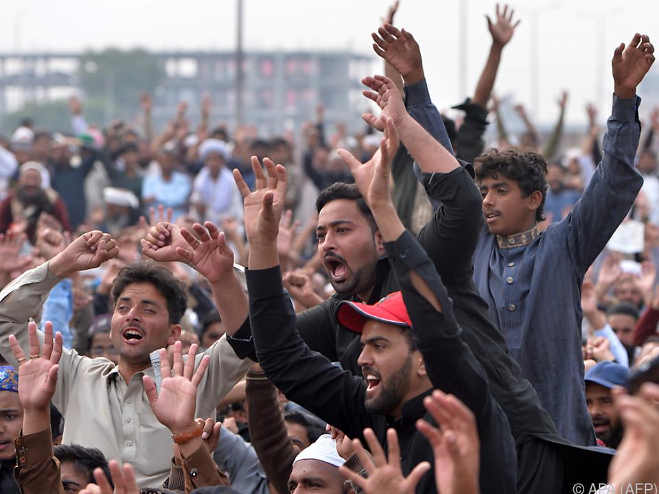 Der Freispruch sorgte für Aufruhr in Pakistan