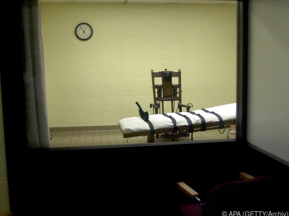 Der Häftling hatte den elektrischen Stuhl der Giftspritze vorgezogen