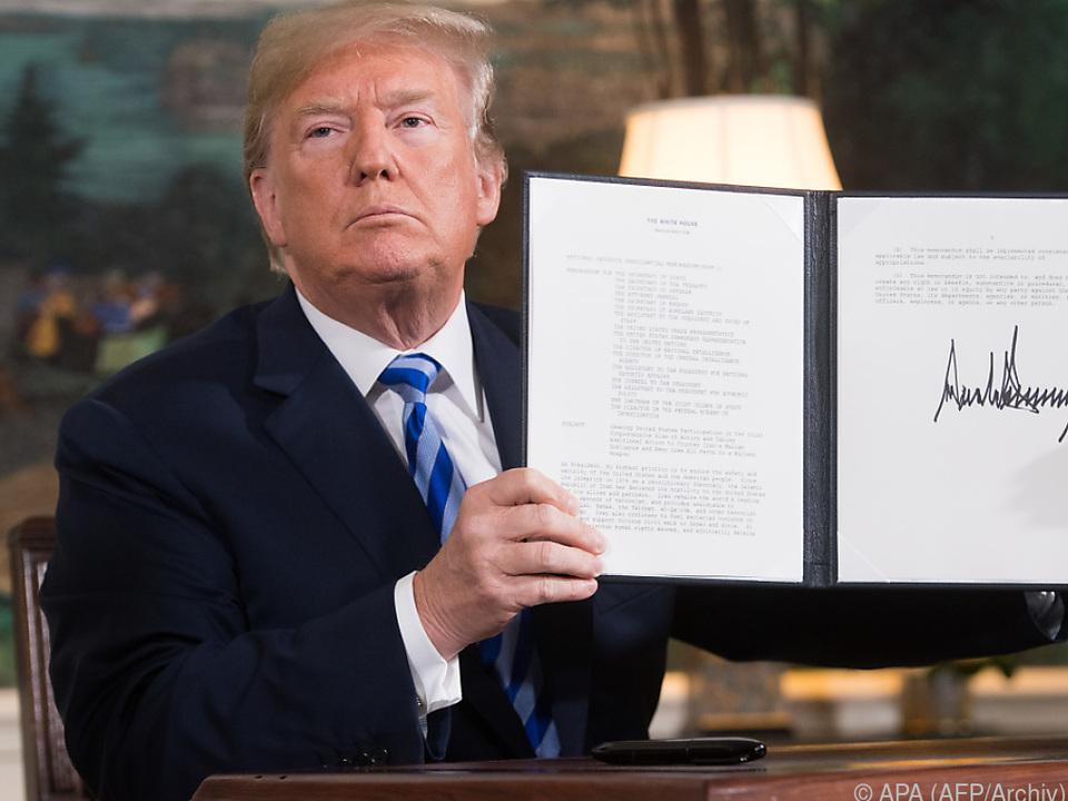 Der Iran freut sich über Trumps geplante Ausnahmen