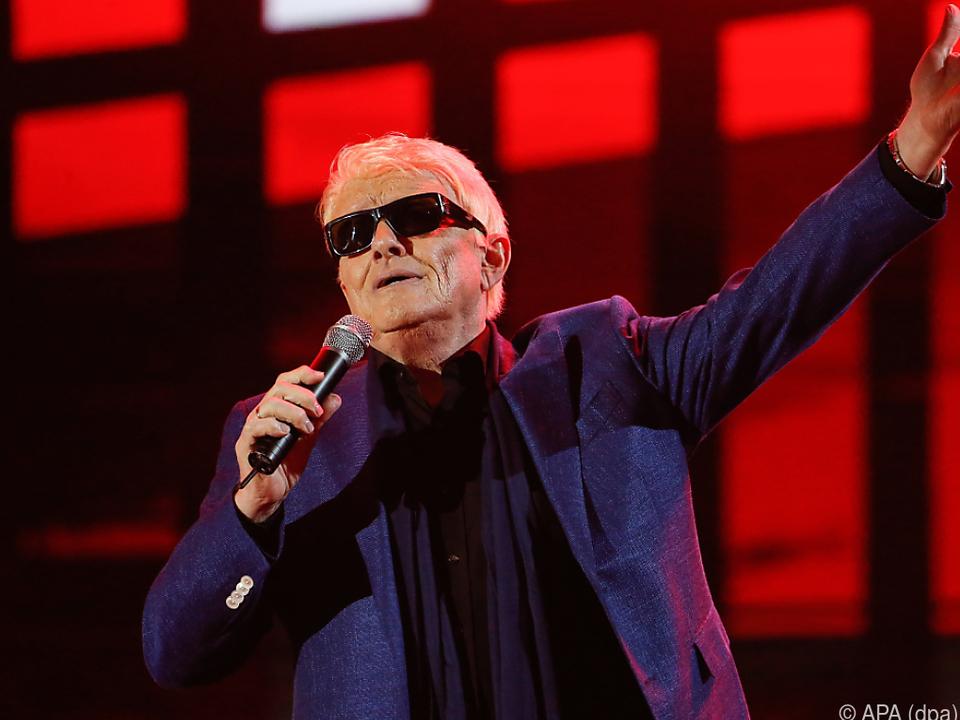 Der Sänger wird heuer 80 Jahre alt