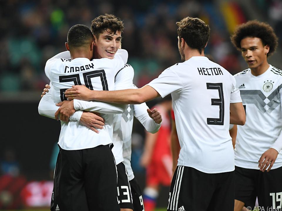 Deutschlands Fußball-Nationalteam kehrte auf die Siegerstraße zurück