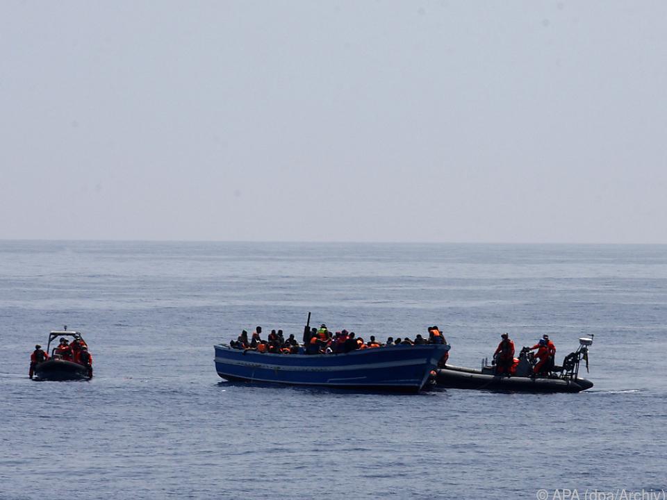 Die Flucht über das Mittelmeer wird für viele zur Gefahr