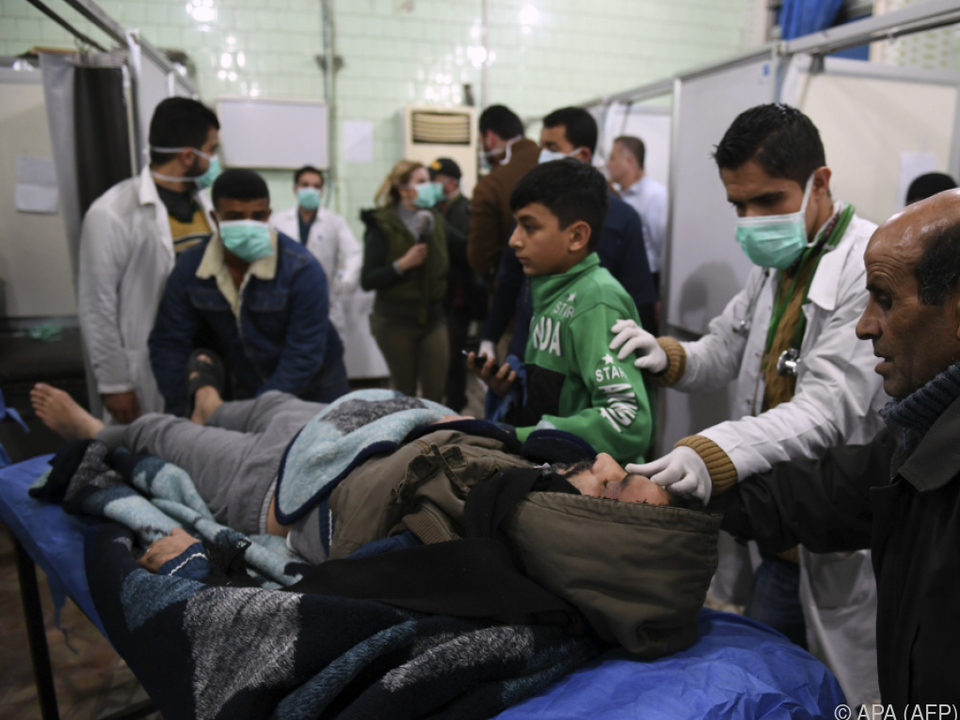 Die Opfer litten unter teils schweren Atemproblemen