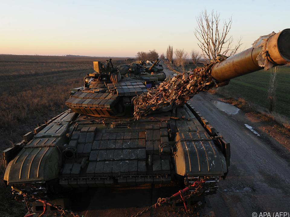 Die Ukraine verhängte für 30 Tage das Kriegsrecht