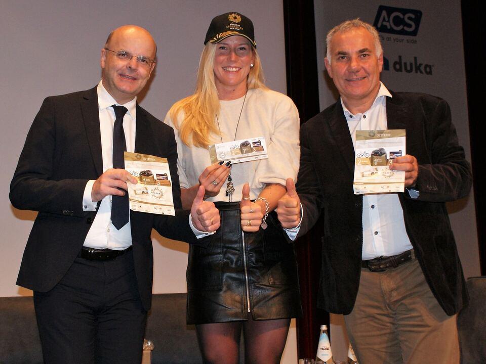 Südtiroler Sporthilfe Lotterie mit Letrari