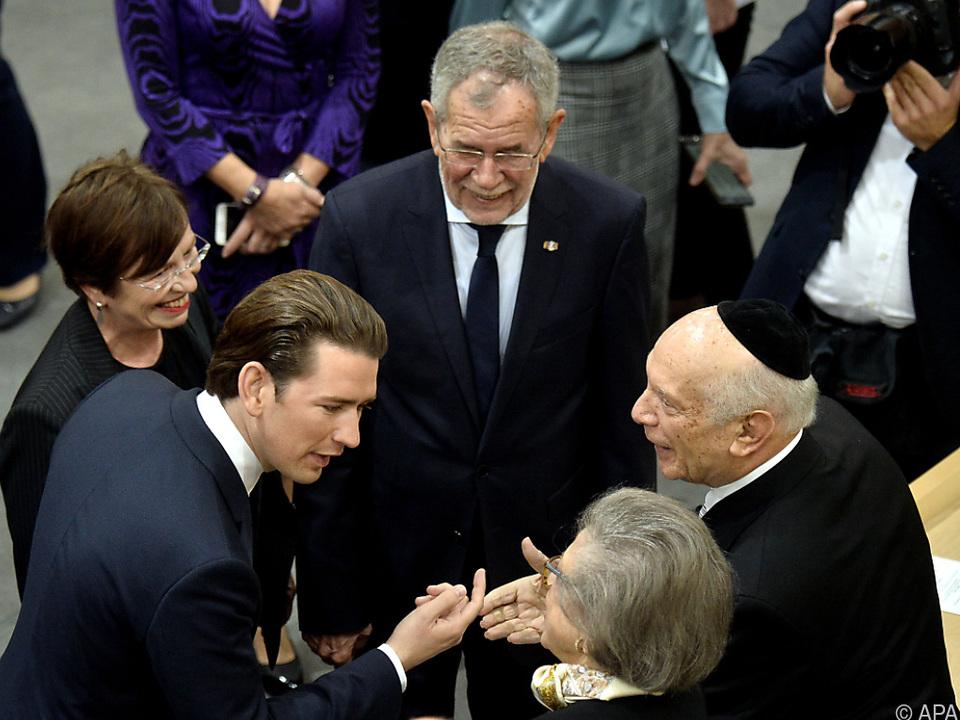 Einigkeit über Verantwortung Österreichs