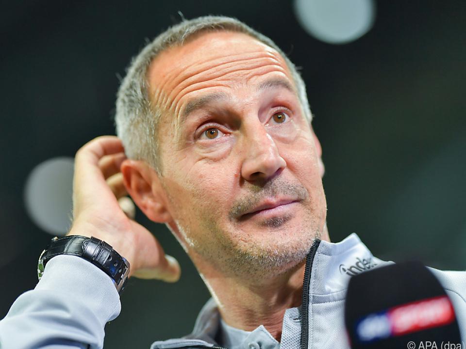 Eintracht-Frankfurt-Trainer Adi Hütter