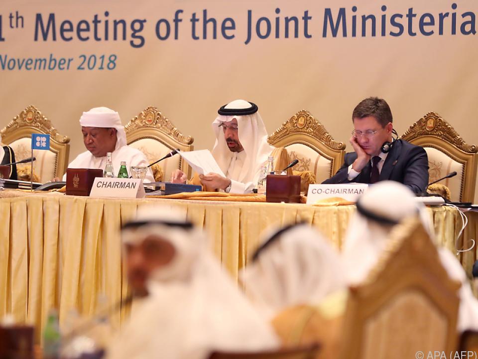 Energieminister Khaled al-Falih in Abu Dhabi