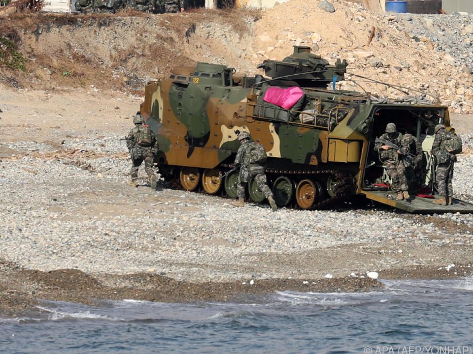 Es finden zweiwöchige Übungen mit rund 500 Soldaten statt