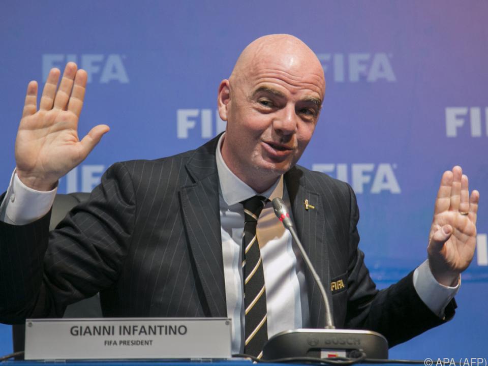 FIFA-Präsident Infantino schweigt zu den Vorwürfen