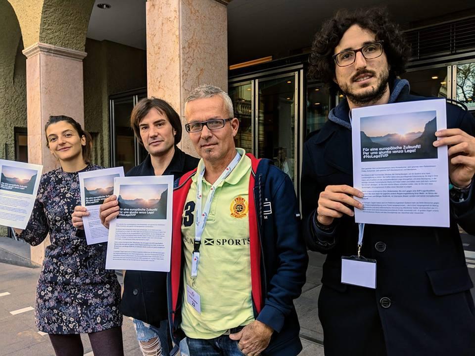 Unterschriften gegen Lega Petition