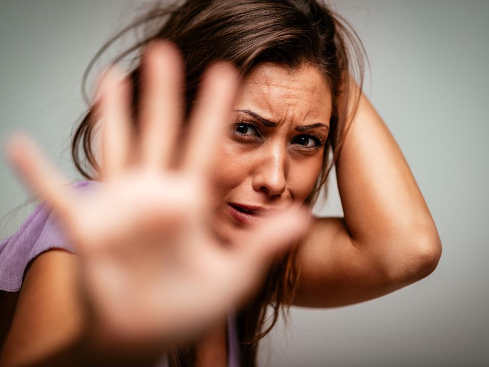 Gewalt Frau