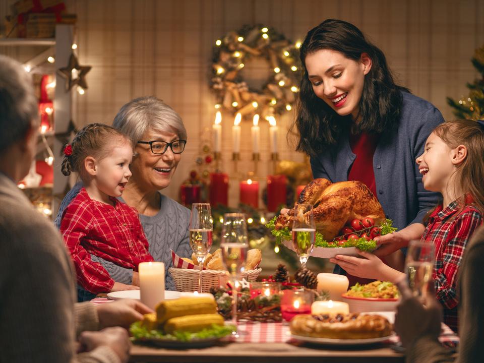 Weihnachten essen christkind sym