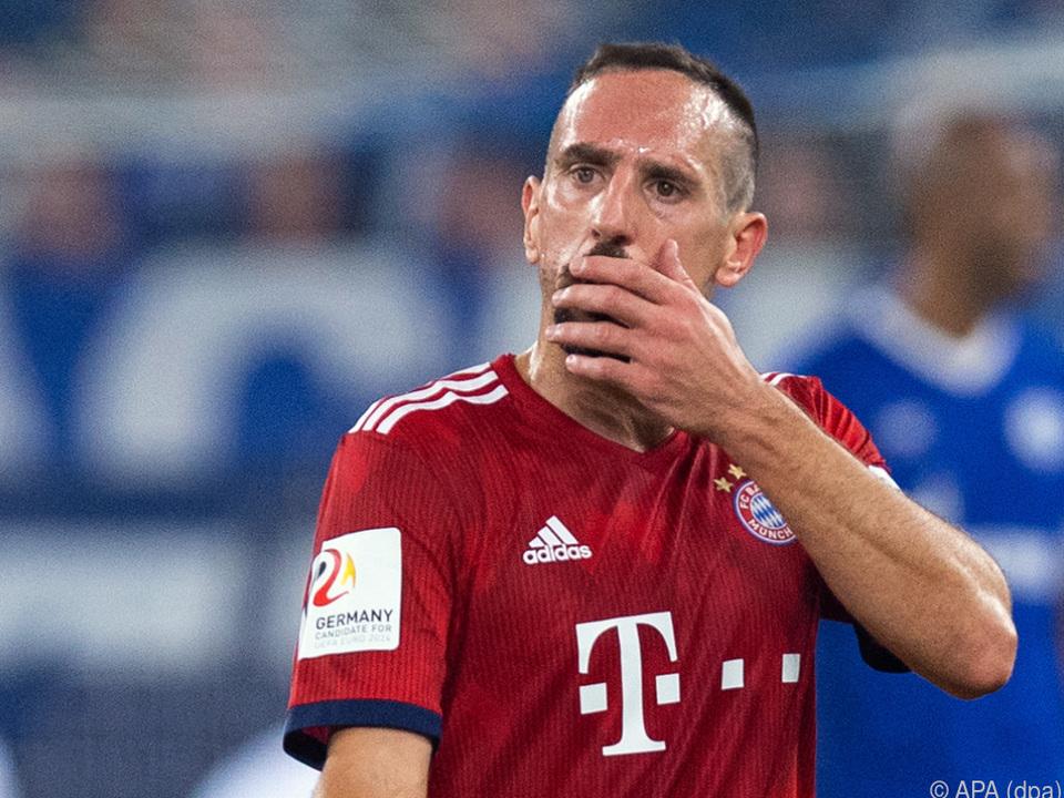 Franck Ribery fiel bereits negativ auf