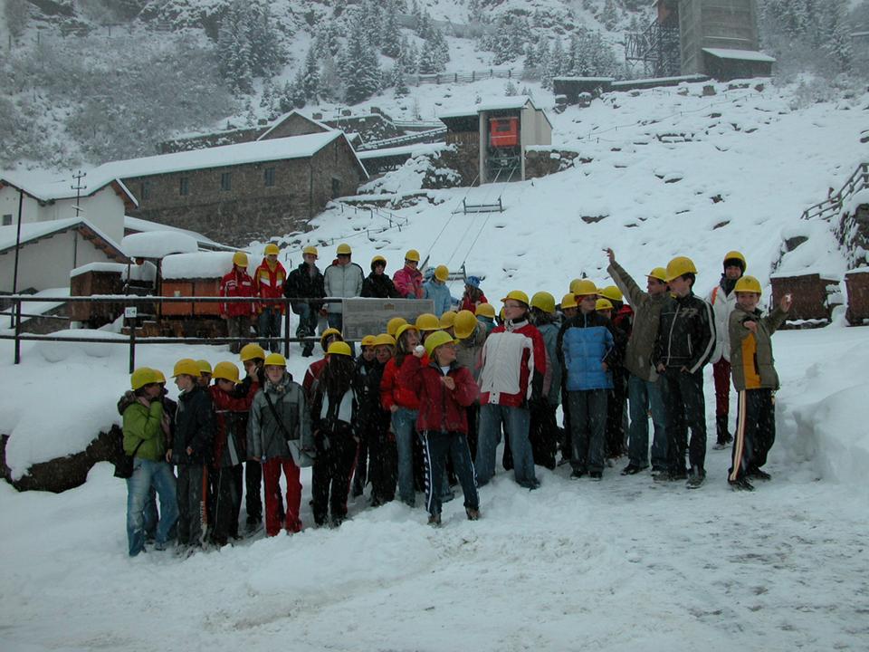 Führung durch das Landesmuseum Bergbau - Standort Ridnaun