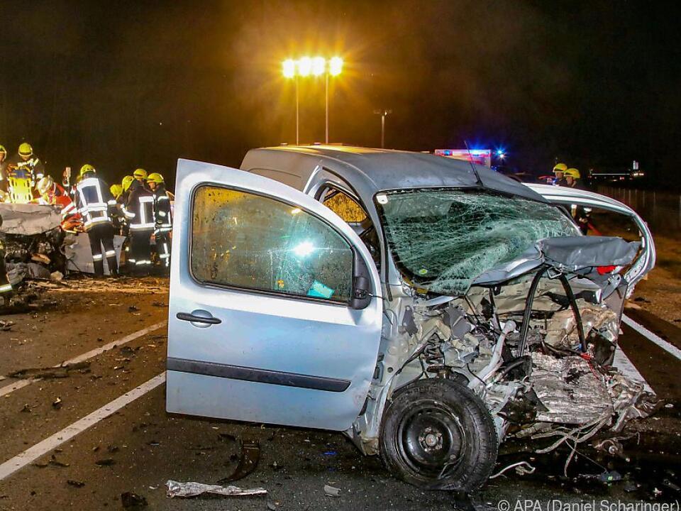 Fünf Fahrzeuge waren in den Unfall verwickelt