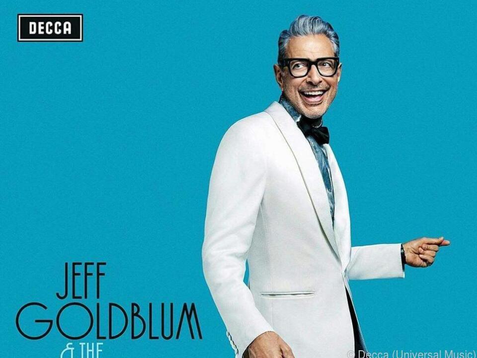 Goldblum wechselte von vor der Kamera hinters Mikrofon