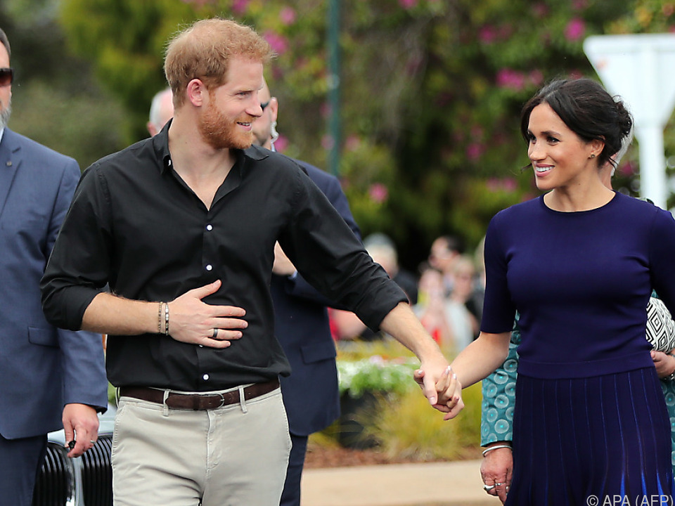 Harry und Meghan in Auckland