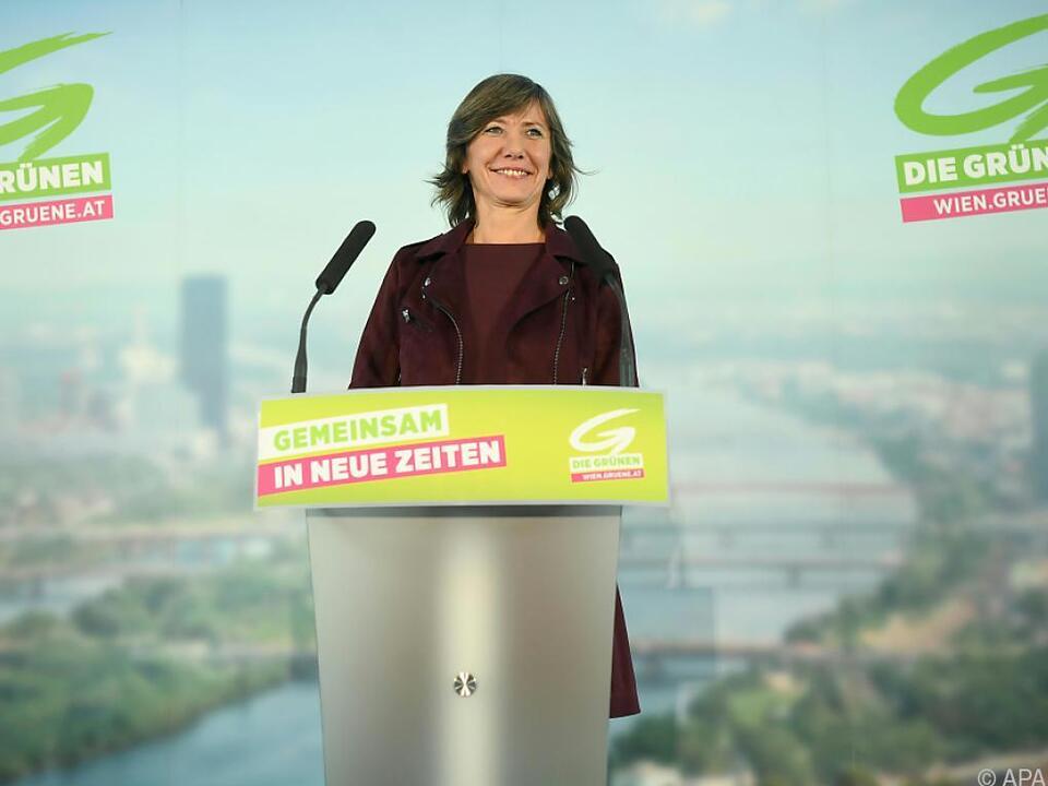 Hebein führt die Wiener Grünen an