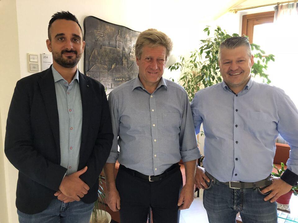 HGV-Sarntal traf sich mit Bürgermeister