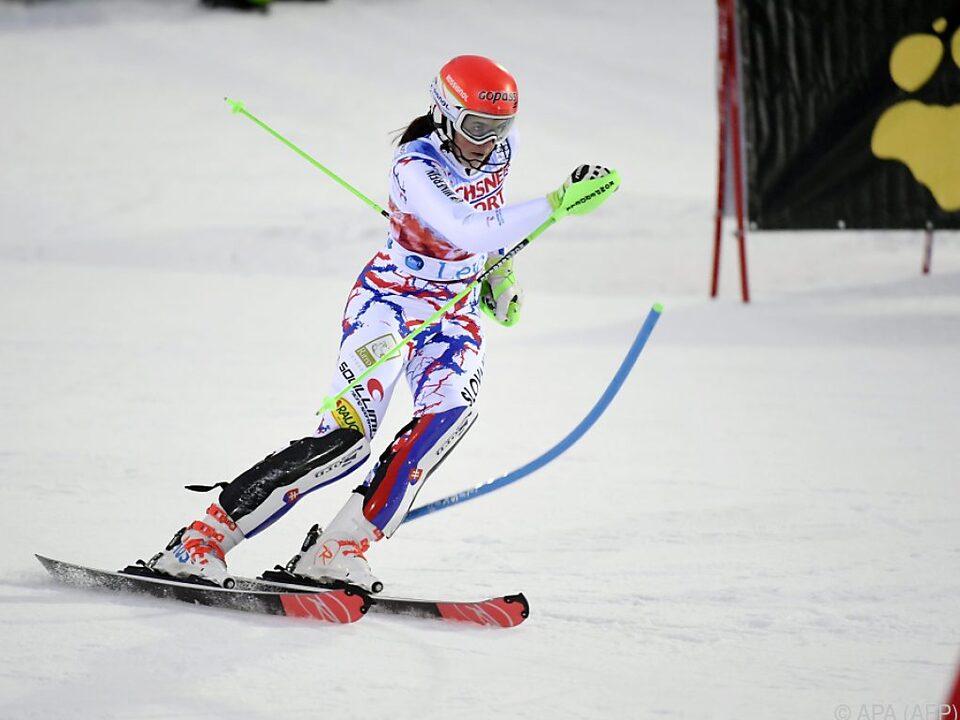 Im Vorjahr gewann Petra Vlhova in Levi