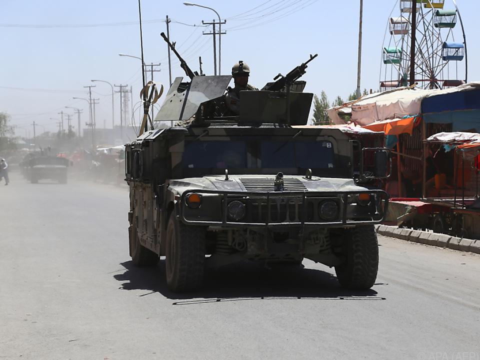 In Afghanistan herrscht weiter Bürgerkrieg