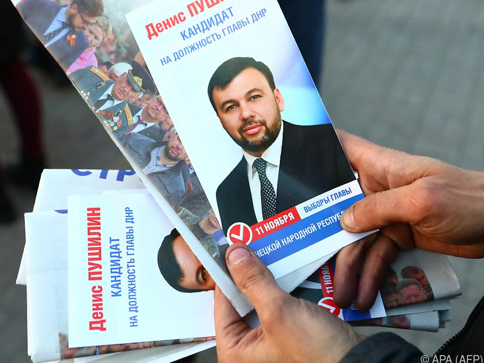 In Donezk zeichnet sich ein Sieg von Denis Puschilin ab