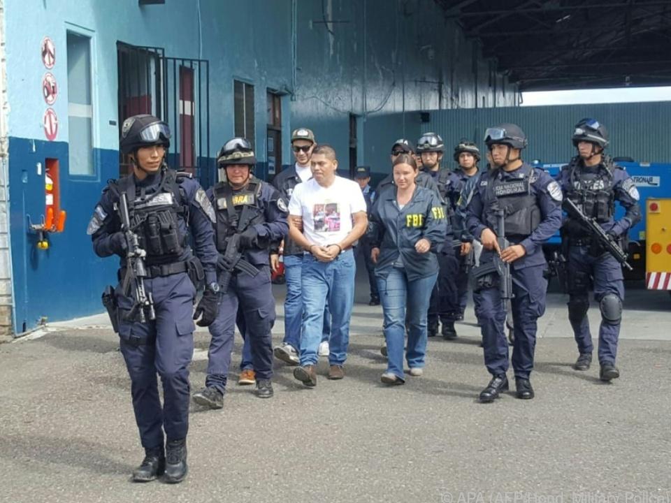 In Honduras wurden 22 Personen festgenommen