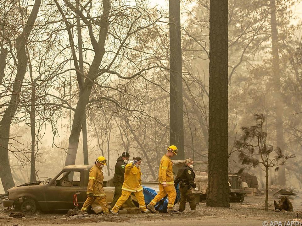 In Kalifornien wüten verheerende Waldbrände