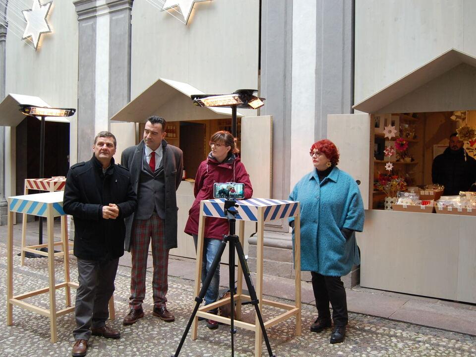 Inaugurazione Corte delle Stelle Eröffnung Sternenhof