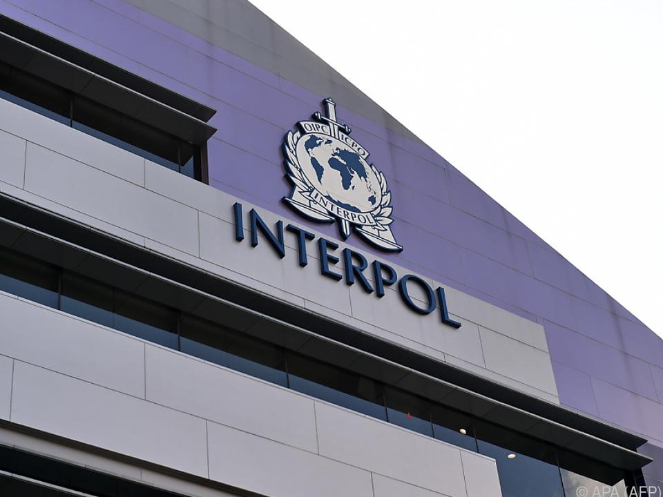 Internationale Polizeibehörde Interpol