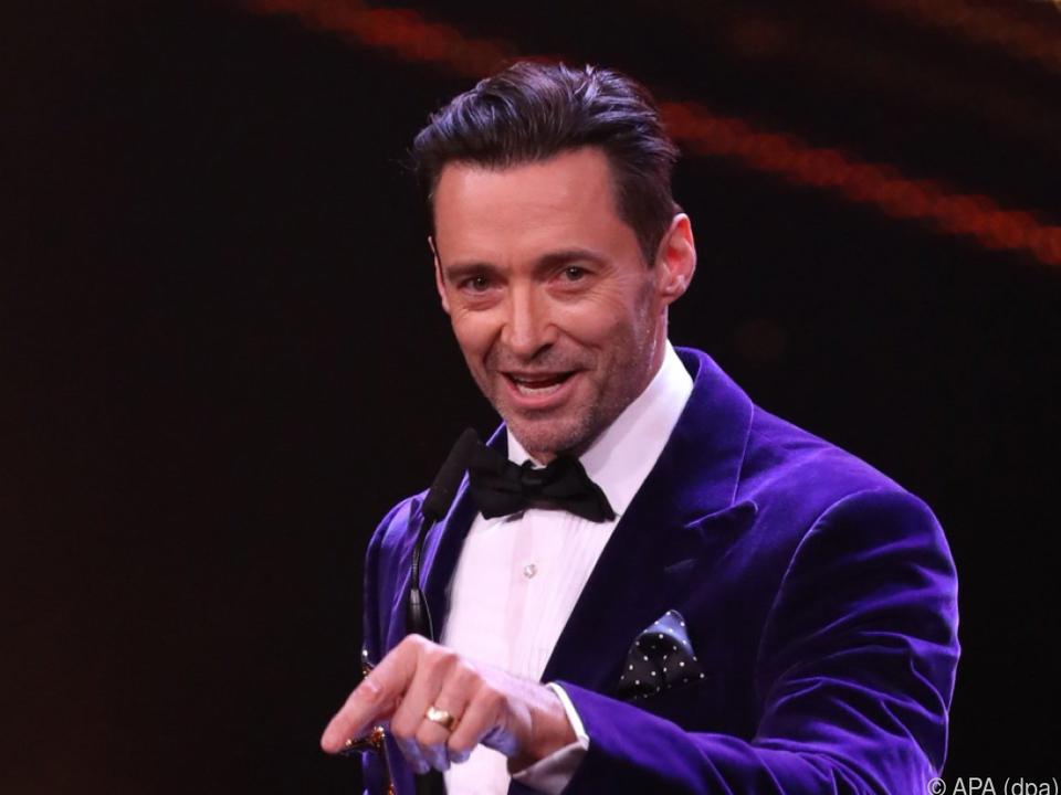 Jackman zeigt seine Sing- und Tanzkünste