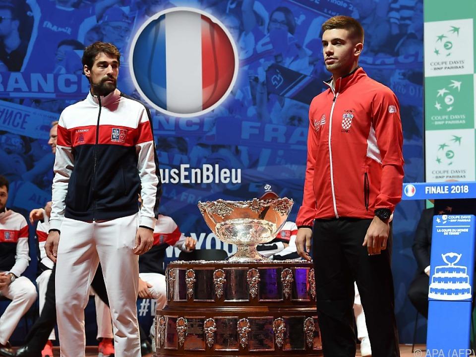 Jeremy Chardy und Borna Coric eröffnen am Freitag das Davis-Cup-Finale