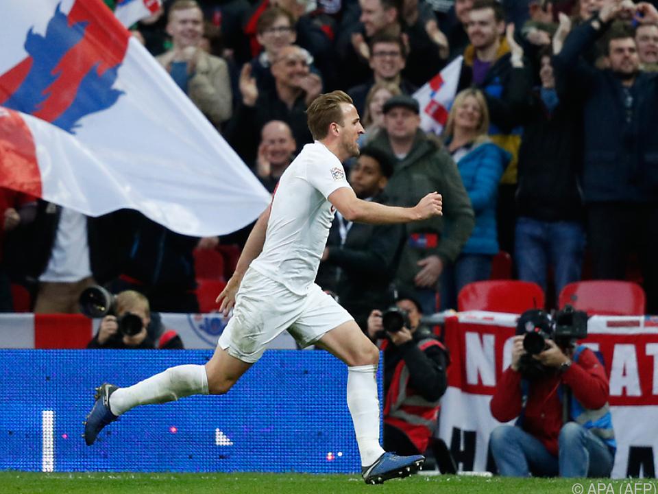 Kane sorgte im Lager der Engländer für Jubel