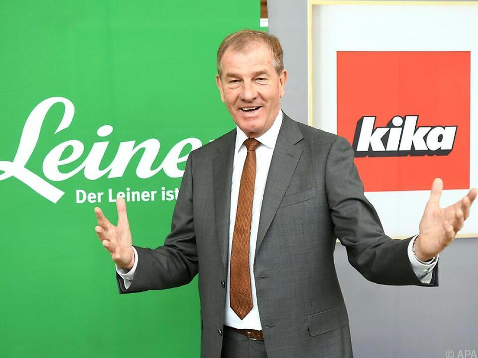 Kika/Leiner-Chef Reinhold Gütebier