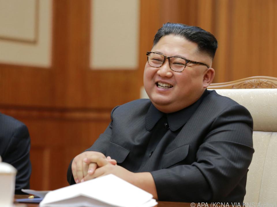 Kim Jong-un soll den Test persönlich überwacht haben