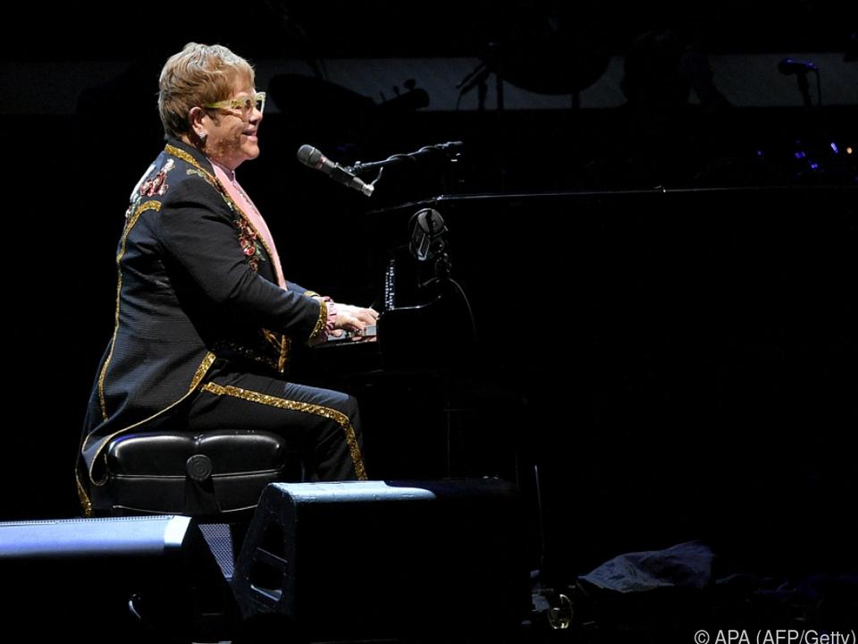 Legendärer Songwriter Elton John