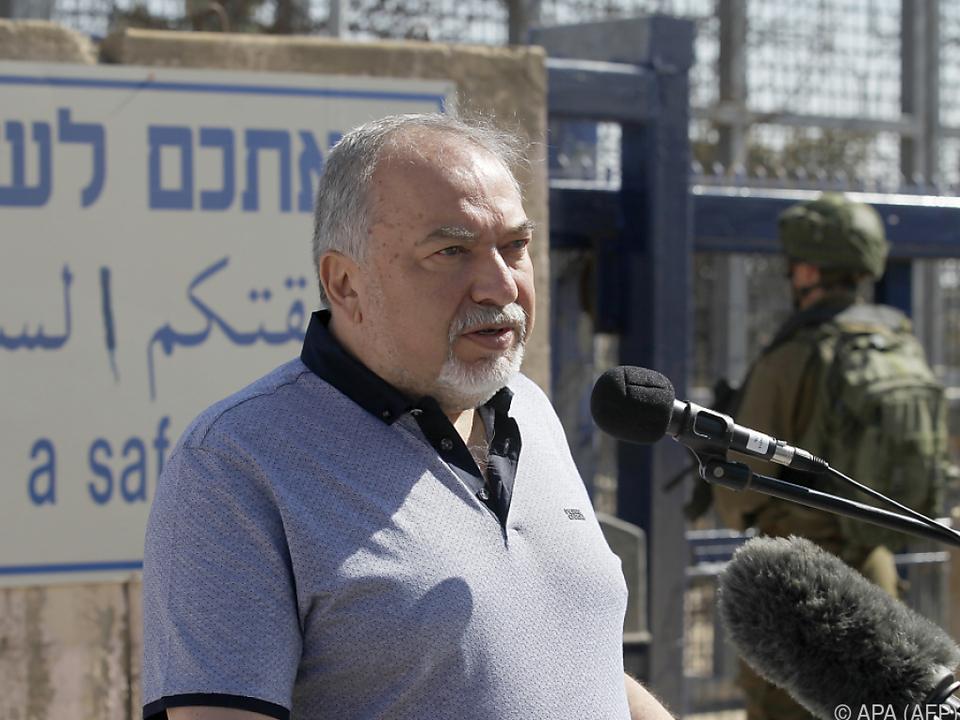 Lieberman ist gegen eine Waffenruhe
