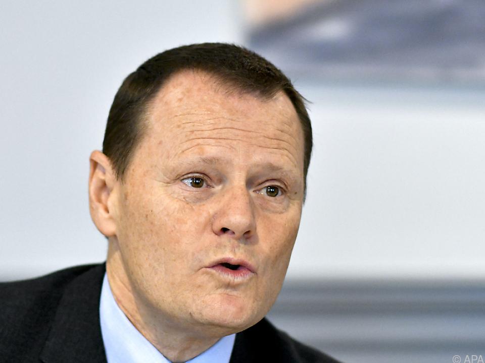 Martin Böhm, Präsident des veranstaltenden Art Cluster Vienna