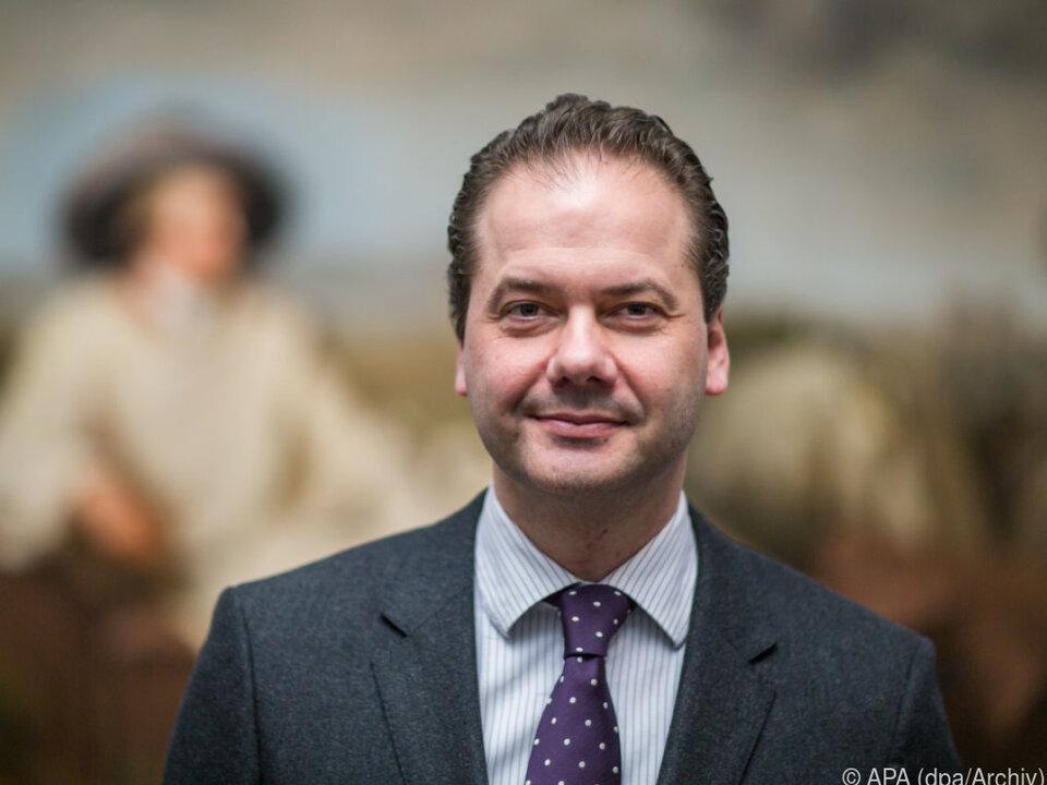 Max Hollein ist Leiter des Metropolitan Museum in New York
