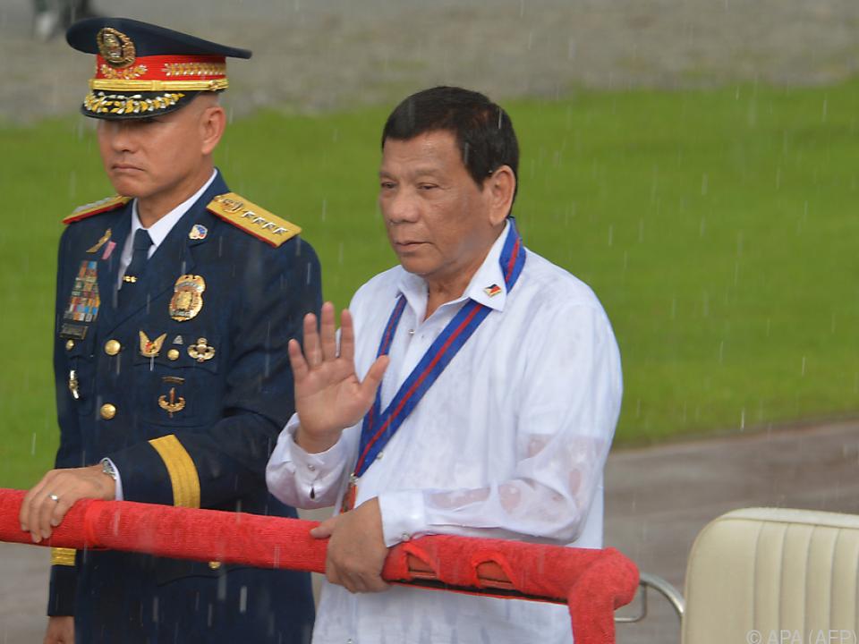 Menschenrechtsgruppen besorgt wegen Dutertes Plänen