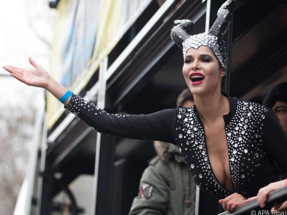 Micaela Schäfer ist für ihre freizügigen Auftritte bekannt