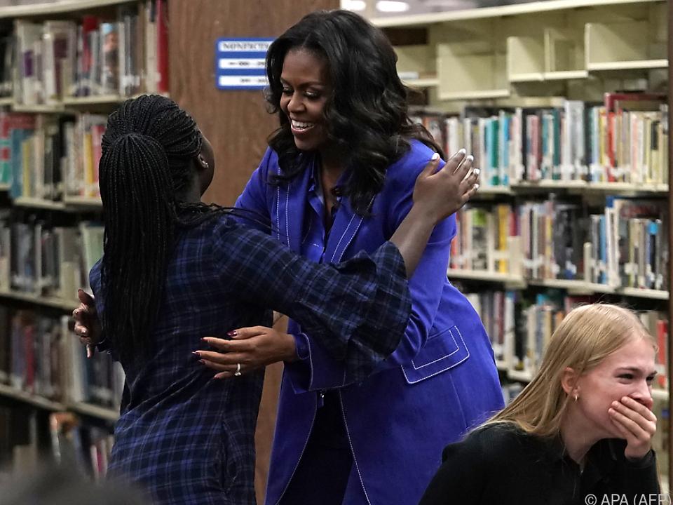 Michelle Obama hat viele Fans