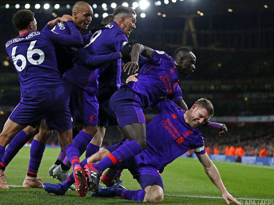 Milner brachte Liverpool in einer hochklassigen Partie in Führung