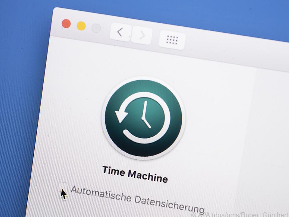 Oft ist eine Backup-Lösung mit an Bord. Bei macOS heißt sie Time Machine