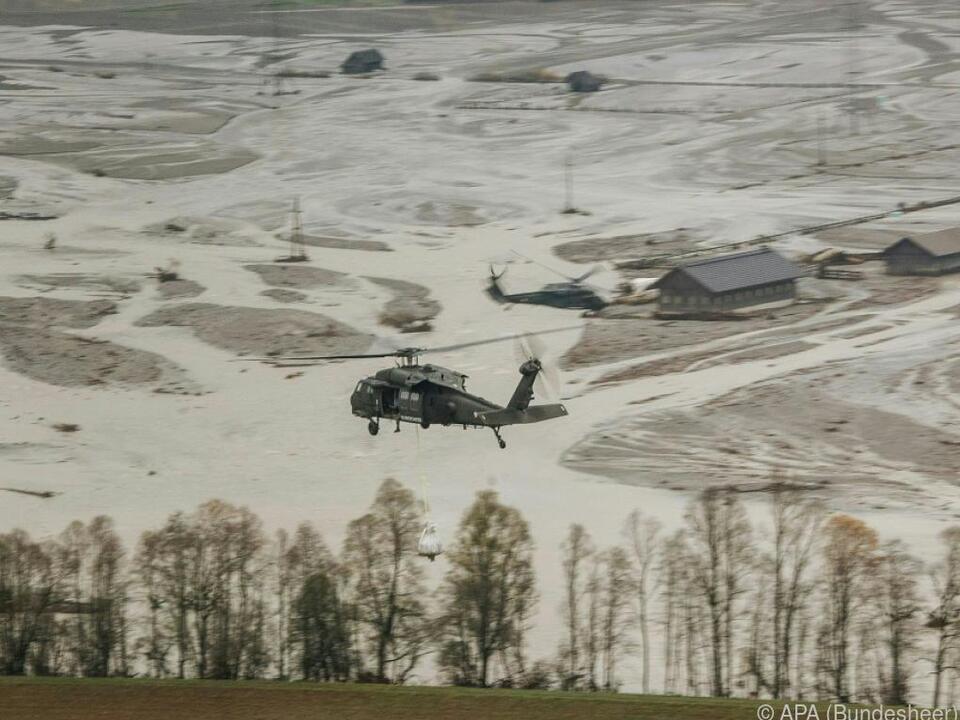 Mittel des Katastrophenfonds sollen rasch und unbürokratisch helfen