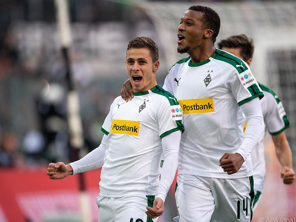 Mönchengladbach schlug Düsseldorf 3:0